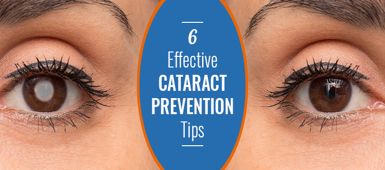 6 Effective Cataract Prevention Tips